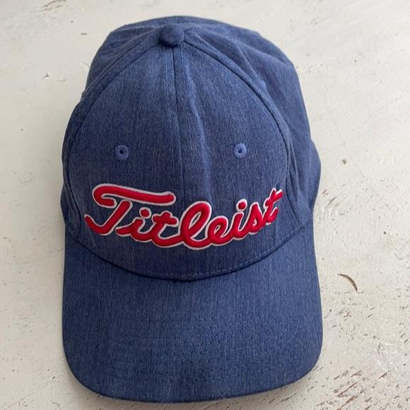 [ Titleist Red White Blue Golf Hat Baseball Cap ]